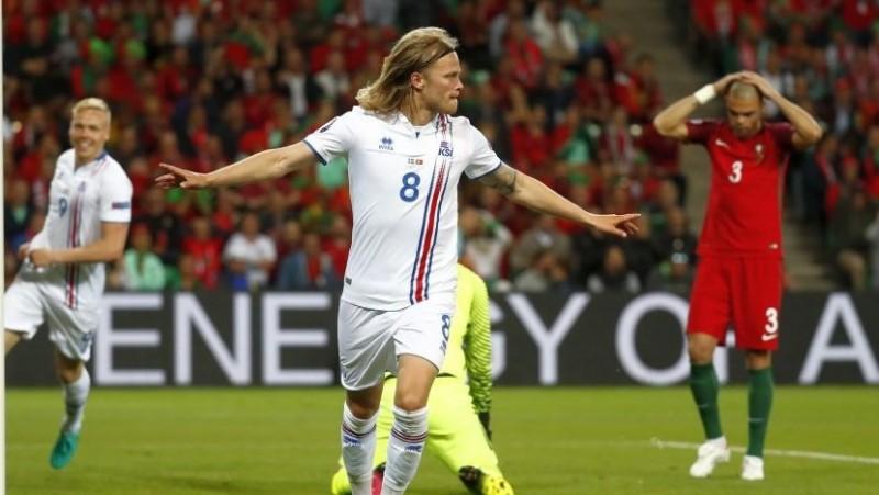 Islanda a produs cea mai mare surpriză de până acum la Euro: 1-1 cu Portugalia! VIDEO