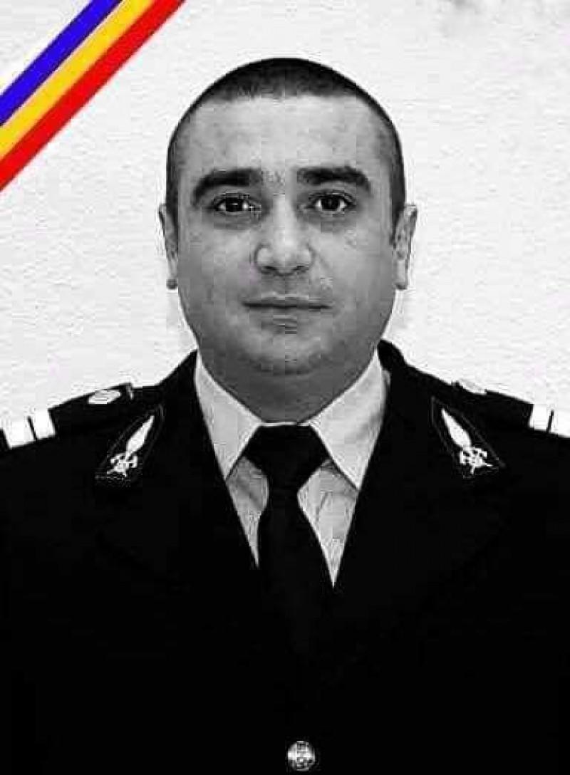 ISU Botoșani comemorează 10 ani de la moartea pompierului Marius Loghin