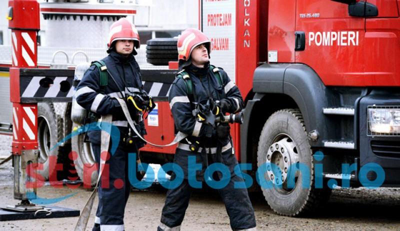 ISU recrutează la Botoșani voluntari care să li se alăture pompierilor în misiuni!