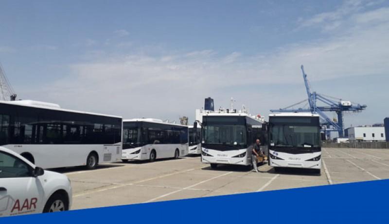 ISUZU Citibus a început să livreze autobuzele noi pentru Botoșani. Acestea vor înlocui tramvaiele din municipiu