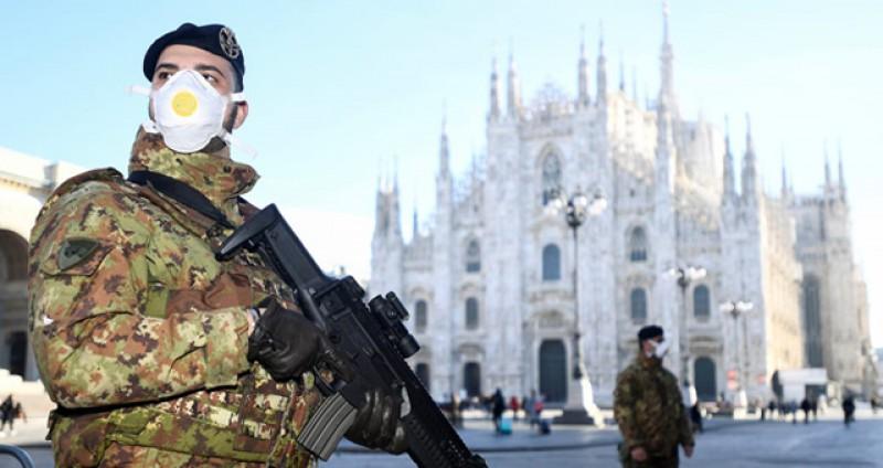 Italia: 133 de decese și 1492 de noi cazuri înregistrate sâmbătă