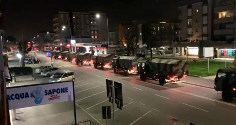 Italia. Moartea se plimbă pe străzi: 793 de morți în ultimele 24 de ore - VIDEO