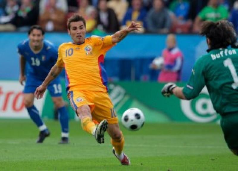 Italia - România 1-1, Mutu a ratat un penalti în minutul 80!