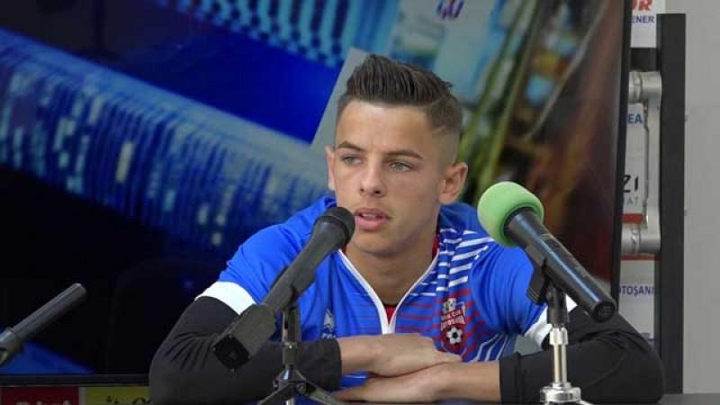 Italienii de la Genoa au făcut o ofertă pentru George Cîmpanu de la FC Botoșani