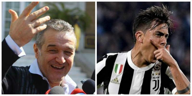 Italienii râd de Gigi Becali după ce a spus că Moruţan e mai bun decât Dybala!