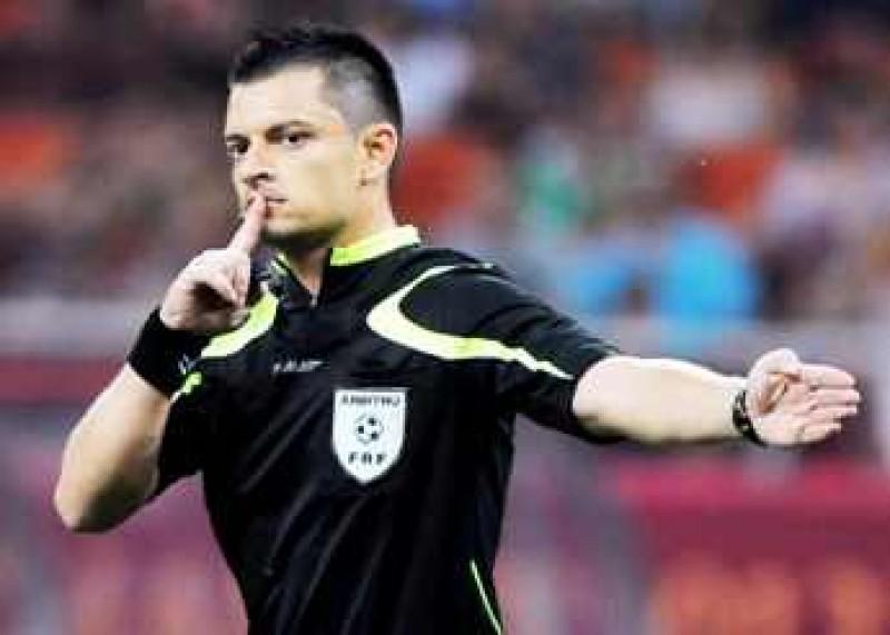 Iulian Dima va arbitra partida dintre FC Botosani si Chiajna