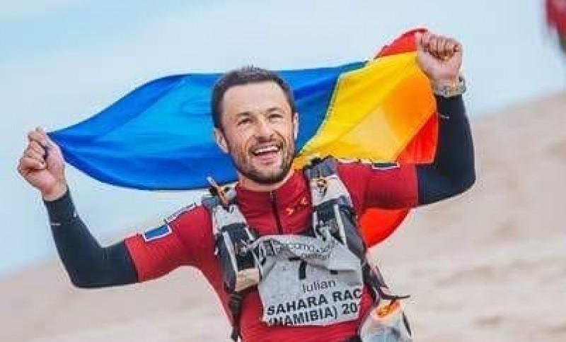 """Iulian Rotariu a pornit către marea aventură: Ultramaratonul """"The Track"""" din Australia. Botoșăneanul are de parcurs 522 de kilometri"""
