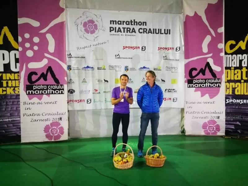 Iulian Rotariu, locul I pe MAI la maratonul internațional Piatra Craiului! FOTO