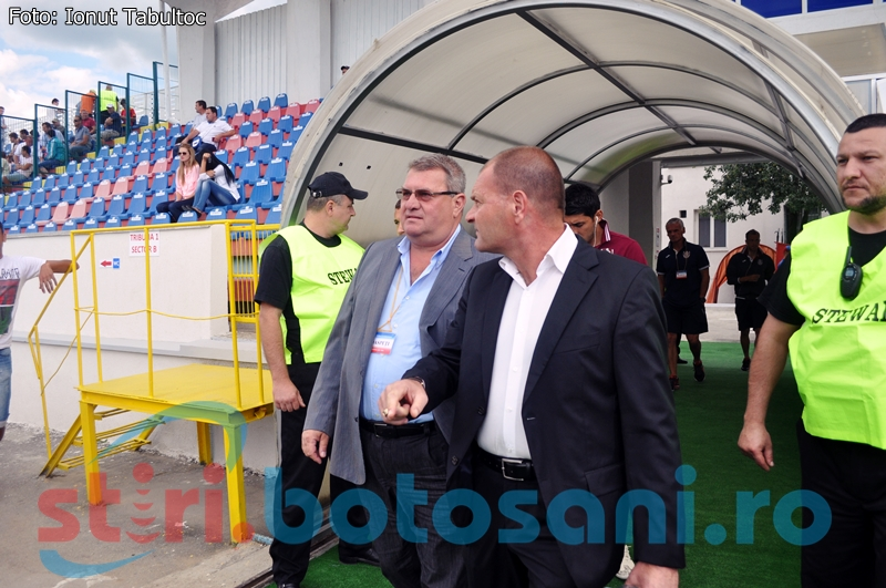 """Iuliu Mureşan îl ceartă pe Vasile Miriuţă, inainte de a veni la Botosani: """"Să aibă grijă ce declară"""""""