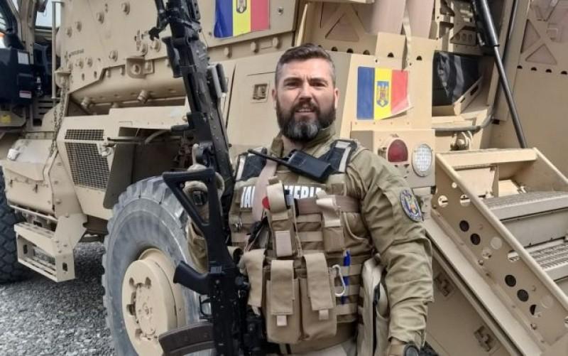 """Jandarm din Botoșani, întors acasă din iadul din Afganistan: """"Dormeam tot timpul cu pistolul sub cap"""""""