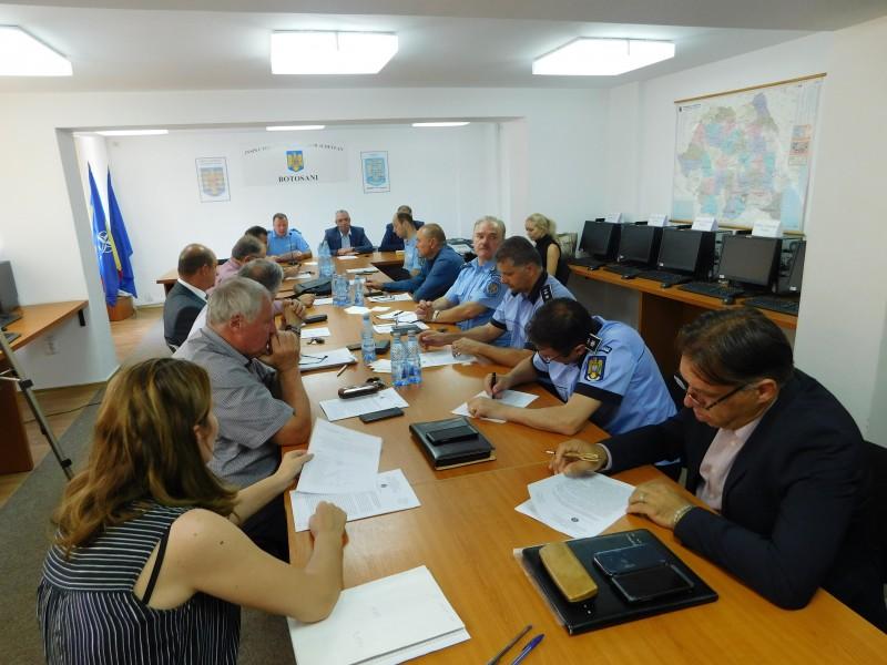 Jandarmeria din Botoșani a prezentat raportul activității instituției, din prima jumătate a acestui an