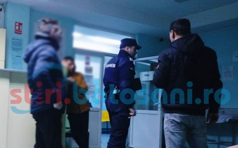 Jandarmi chemati de medicii din Unitatea de Primiri Urgente, pentru a potoli trei scandalagii! FOTO