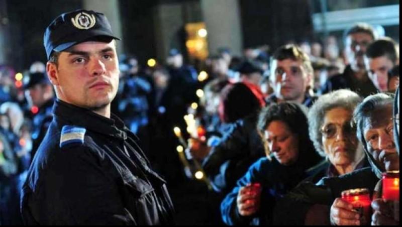 Jandarmii botoșăneni, alături de cetățeni în noaptea de Înviere!