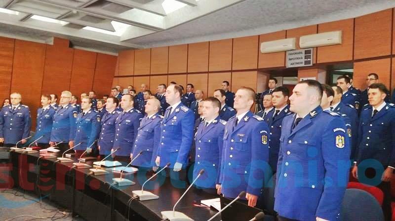 Jandarmii botoșăneni, la ceas de bilanț-FOTO
