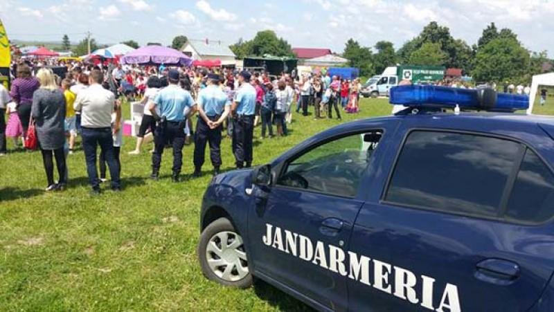 Jandarmii, pregătiți să asigure liniștea la manifestările din acest week-end