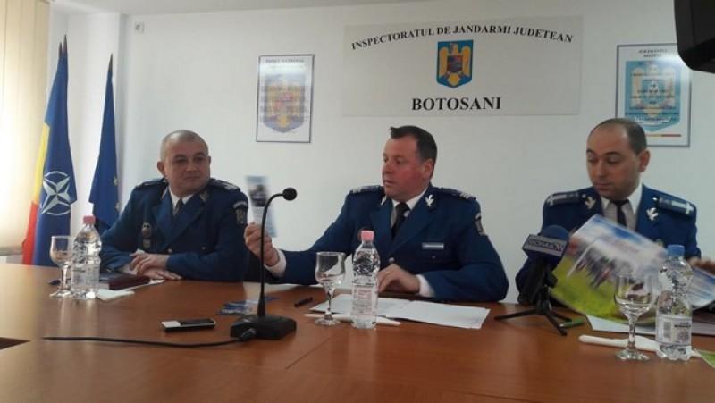 Jandarmii vor monitoriza dintr-un dispecerat central instituţiile publice din Botoşani