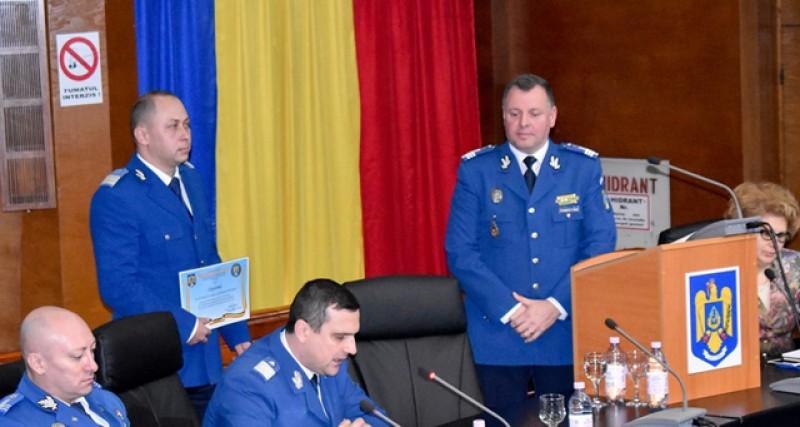 Jandarmul anului 2019 în județul Botoșani a fost desemnat Andrei Lupușoru