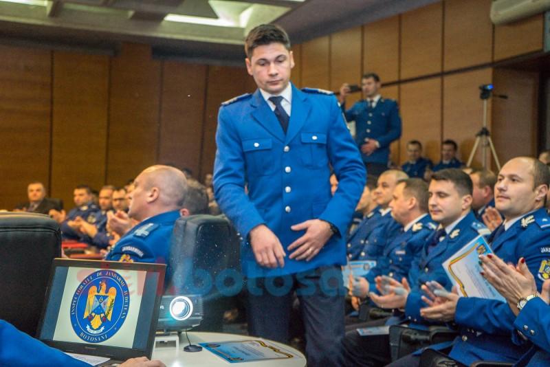 Jandarmul de onoare al județului Botoșani