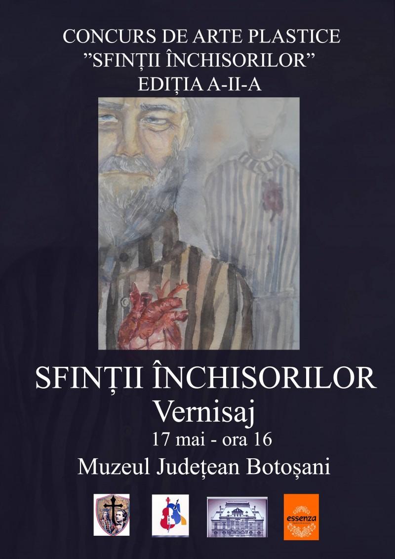 """Joi, la Muzeul Județean Botoșani: Vernisajul concursului interliceal de arte plastice """"Sfinții închisorilor""""!"""