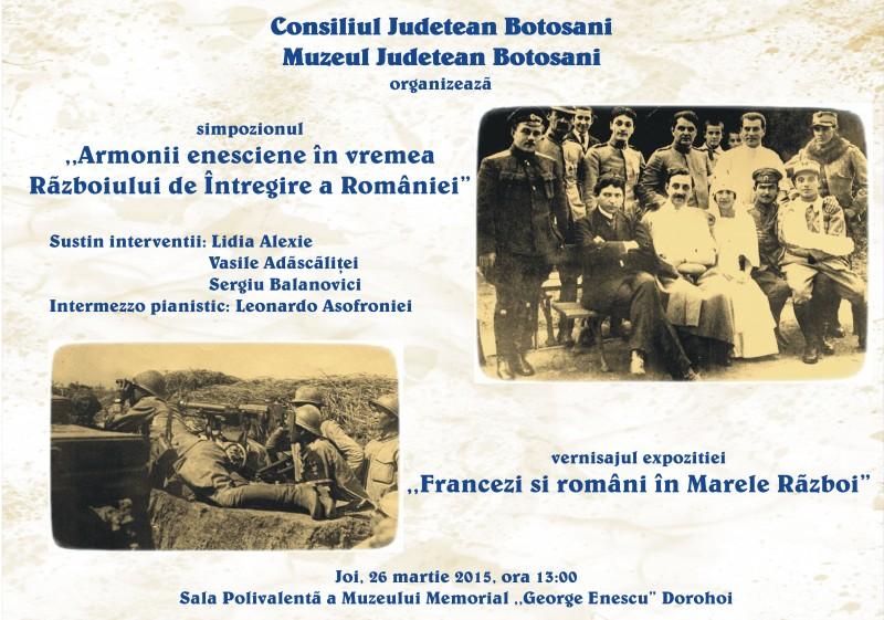 "JOI: Simpozion si expozitie la Muzeul Memorial ""George Enescu"" Dorohoi"
