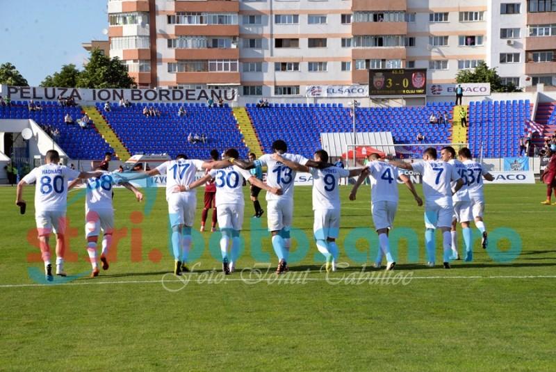 Jucătorii Botoșaniului, ajutor pentru portarul Bolboașă