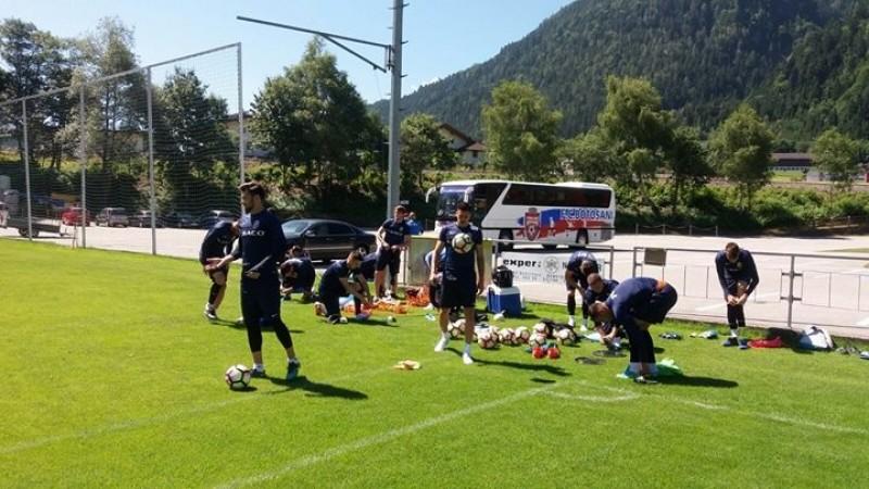 Jucatorii de la FC Botosani s-au intors acasa si au doua zile libere