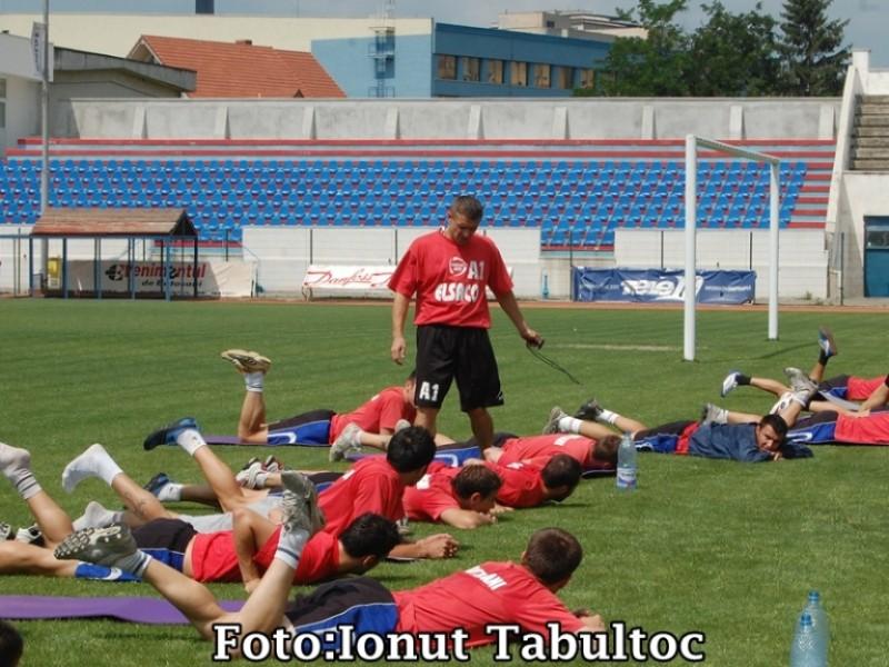 Jucătorii de la FC Botosani sunt deficitari la pregătirea fizică