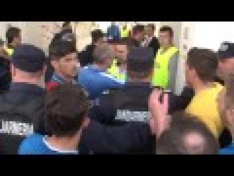 Jucatorii de la Viitorul Constanta au facut pagube pe Stadionul Municipal! Coltescu a facut raport - FOTO, VIDEO