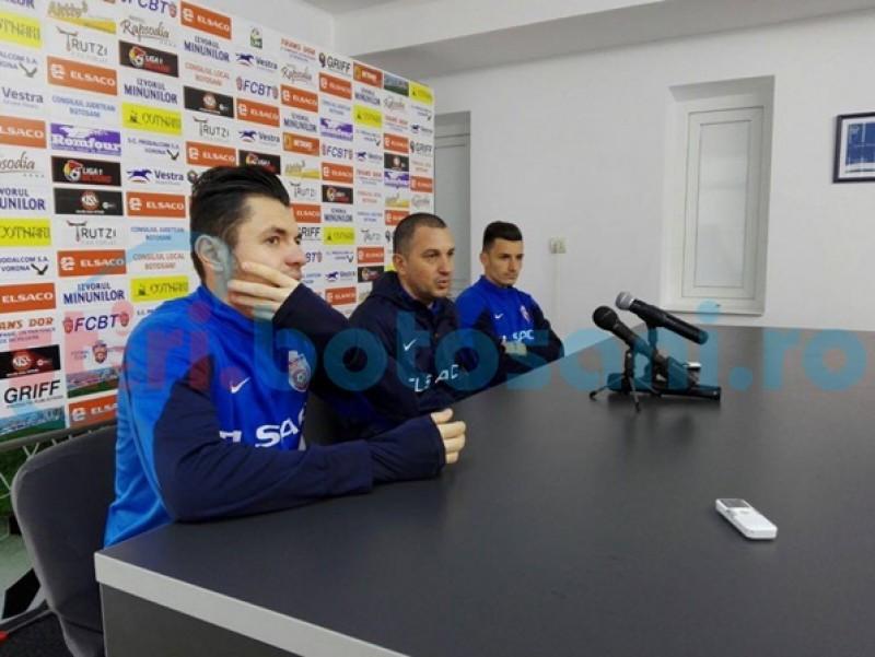 Jucătorii FC Botoşani îşi doresc prima victorie cu FCSB: Sper să fim mai agresivi decât am fost până acum