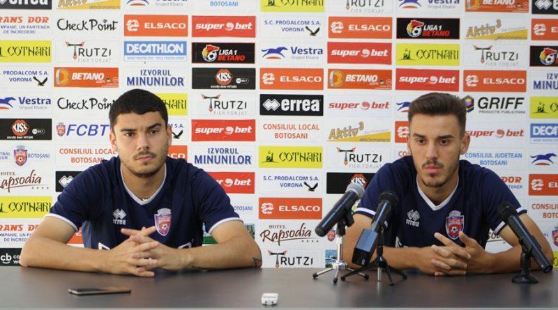 """Jucătorii FC Botoșani, optimiști înaintea partidei cu Astra Giurgiu: """"Va fi un meci frumos. Șansele sunt egale!"""""""