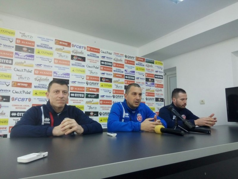 Jucătorii FC Botoşani şi-au stabilit un nou obiectiv: locul 7