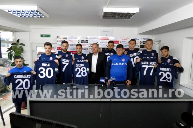 Jucatorii noi de la FC Botosani, prezentati oficial! GALERIE FOTO