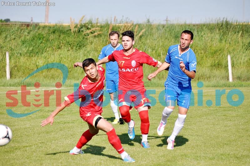 Jucatorii testati de FC Botosani, invinsi de Luceafarul Mihai Eminescu - FOTO
