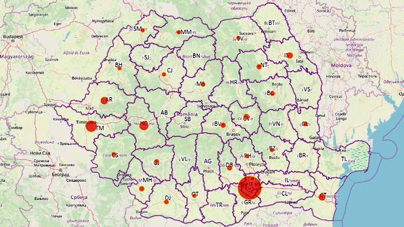 Județul Botoșani, unul din puținele din România fără coronavirus