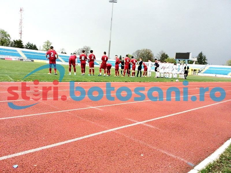 JUNIORI: CSS Botosani, invinsa cu 4-1, in Copou, de CSMS Iasi - FOTO
