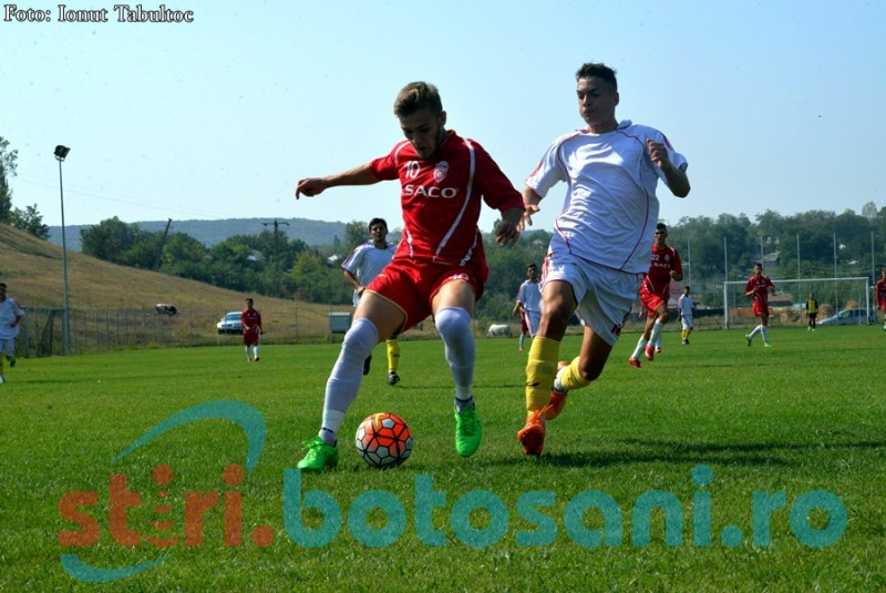 Juniorii A de la FC Botosani vor juca finala turneului semifinal, cu CFR Cluj! Victorie cu 4-2 in fata celor de la ASA Targ Mures!
