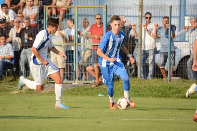 Juniorii botosaneni Andrei Burlacu si Dan Miculaiciuc au debutat la echipa mare a Craiovei, sub comanda lui Cartu si Sandoi! Burlacu a reusit sa inscrie! FOTO