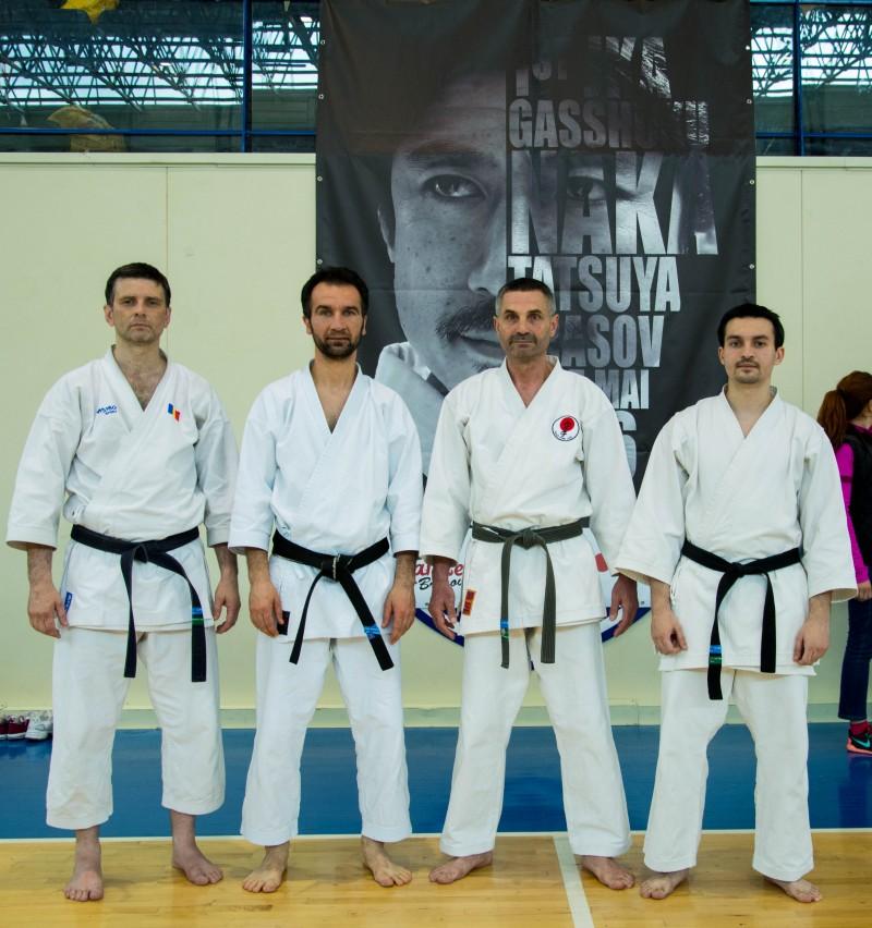 Karate la cel mai inalt nivel, cu Naka Tatsuya!