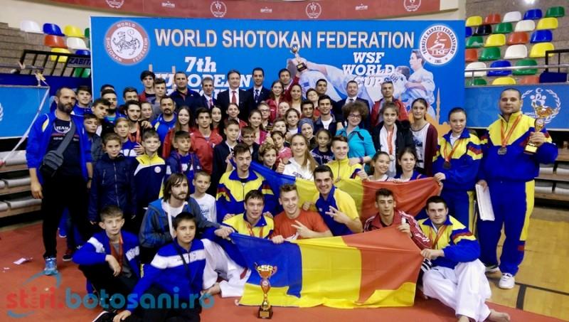 Karatisti botosaneni, premiati la Campionatul European Shotokan, din Turcia - FOTO