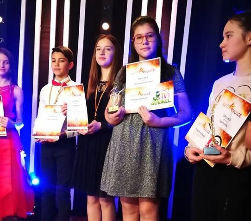 "Karina Cibotariu, Premiul I la Concursul ""The Best Voice"" - VIDEO"