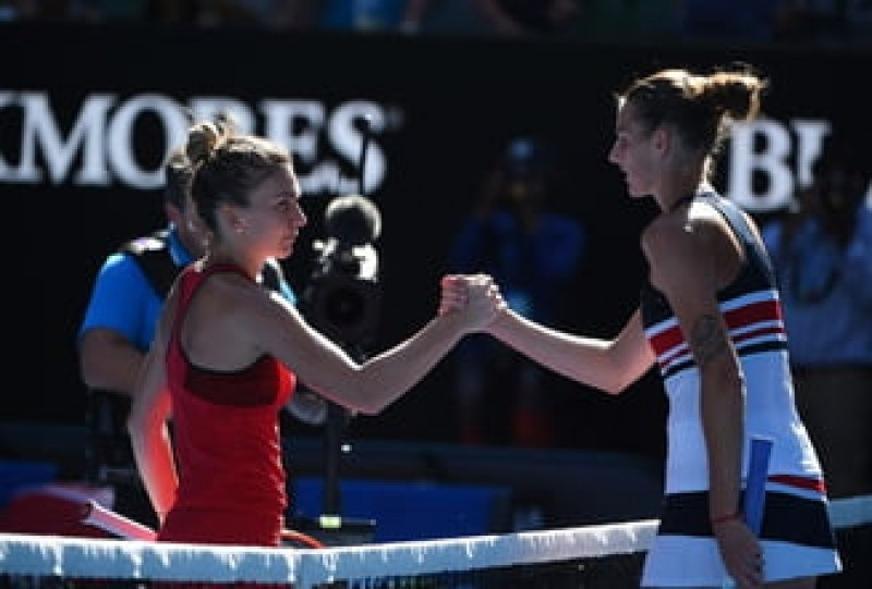 Karolina Pliskova, furioasa inaintea meciului de joi: Simona Halep e cireasa de pe tort pentru mine!
