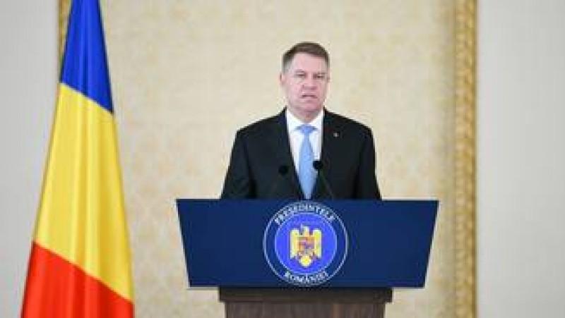 Klaus Iohannis: Am decis sa dau PSD-ului inca o sansa si sa desemnez persoana propusa de PSD, pe doamna Dancila!