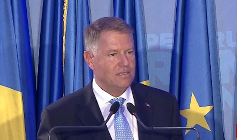 VIDEO. Klaus Iohannis: Pregătiți-vă! De săptămâna viitoare vom avea alt guvern!