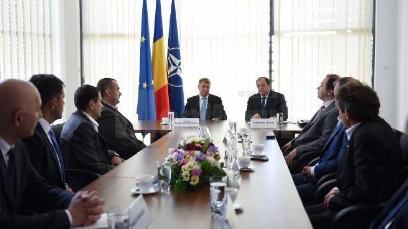 Klaus Iohannis şi-a exprimat sprijinul pentru Clusterul de Bioeconomie Suceava - Botoşani!