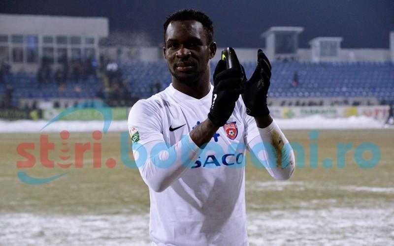 """Kuku, """"omul ghețurilor""""! Două goluri marcate pe terenuri înghețate! Află povestea nigerianului! FOTO, VIDEO"""