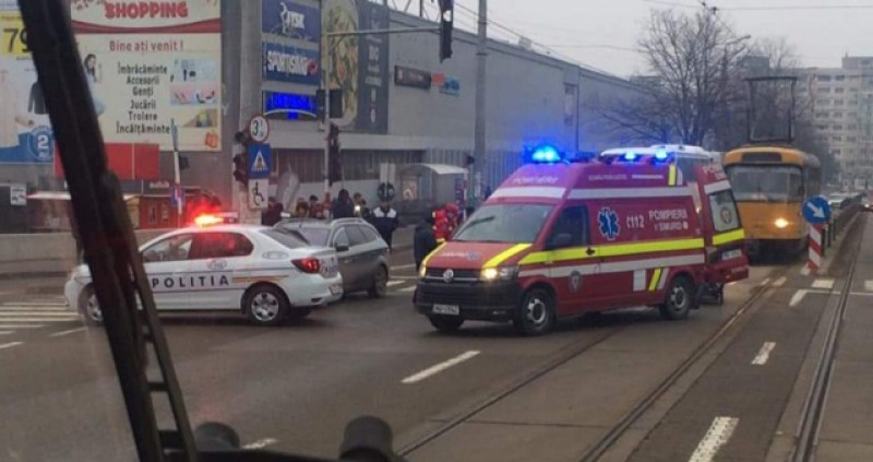 L-au găsit! Autorul accidentului de dimineață de pe strada Sucevei era beat și avea carnetul suspendat!