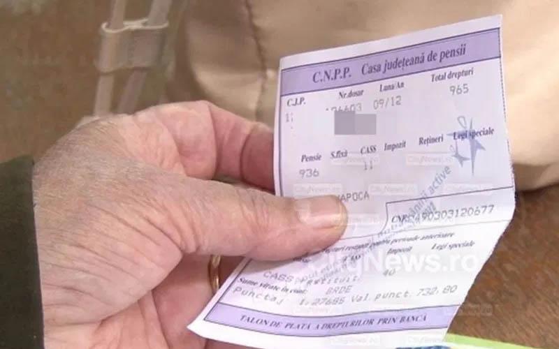 La cerere, TALOANELE de pensie vor putea fi trimise pensionarilor și în format electronic