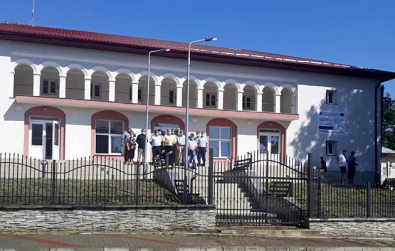 La Dersca a fost făcută recepția lucrărilor de modernizare și dotare a Căminului Cultural