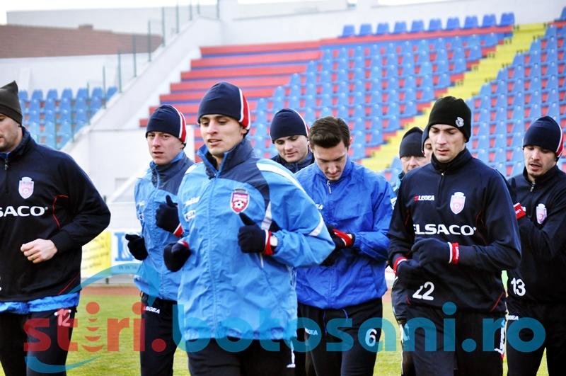 La FC Botosani ar putea reveni pe teren un jucator care a jucat in Champions League!