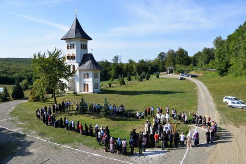 La Mănăstirea Sihăstria Voronei va fi ridicată o nouă biserică